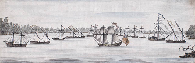 The battle of Valcour Island.