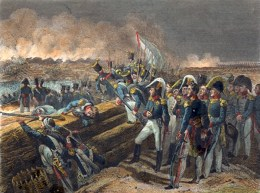 The French siege in the Battle of Trocadero, Aug. 31, 1823. (Image source: WikiCommons)