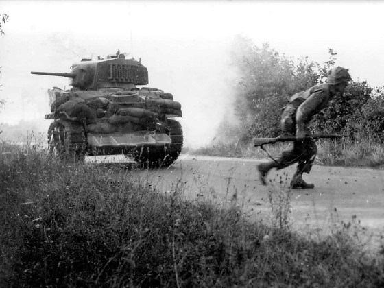 Armour at Normandy – Veteran Tanker Recalls D-Day and the Battle for the Bocage (LISTEN)