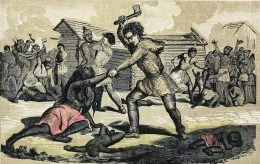 European armies often committed atrocities against the tribes of the New World throughout America's colonial period. But one priest fought to put an end to the bloodletting in Spain's overseas territories.