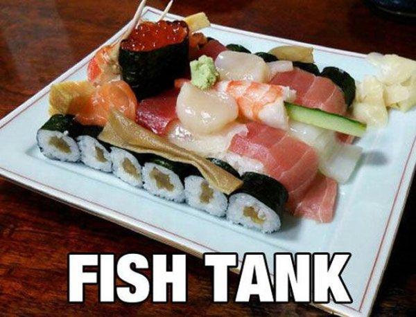 Fish Tank Military humor