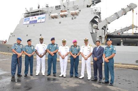 Kapal Perang India Berlabuh di Belawan untuk Patroli Bersama TNI AL