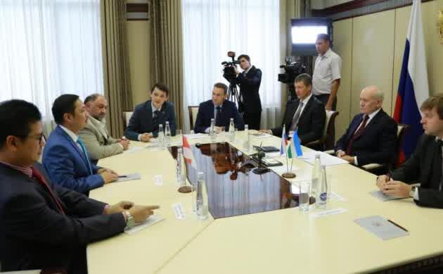 Delegasi Indonesia di Rusia