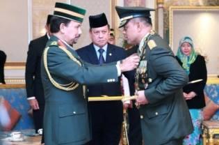 Panglima TNI Terima Bintang Kehormatan Brunei