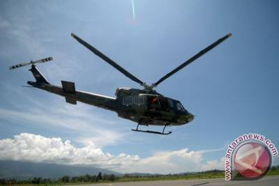 TNI Cari Helikopter Hilang