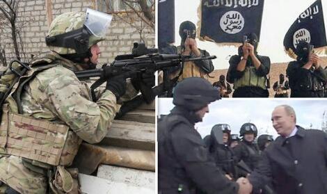 Putin, Terjunkan Pasukan Elite Spetsnaz di Syiria