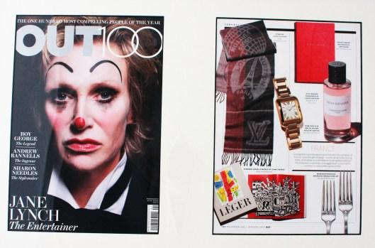 OUT Magazine,  January 2013