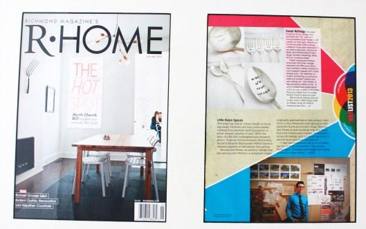 R HOME Magazine, February, 2013