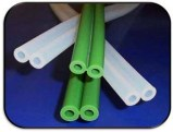 Silicone Rubber Milk hose - White and Green