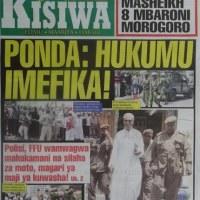 Magazeti ya leo Nov 21 2014 Udaku, Michezo na Hardnews