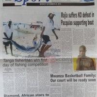 Umesoma makubwa yaliyoandikwa na Magazeti ya Tanzania leo Nov 24? yako hapa