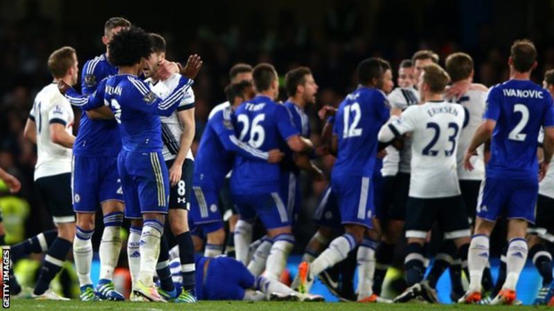 FA ya Uingereza imezipiga faini Chelsea na Tottenham Hotspurs