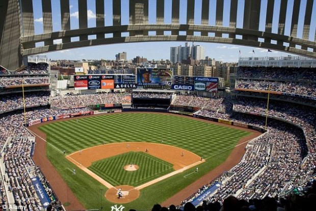 The Yankee Stadium is valued at $1.5bn and was rebuilt in 2009
