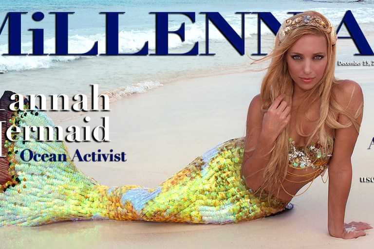 Millennial Magazine - Hannah-Mermaid-Cover