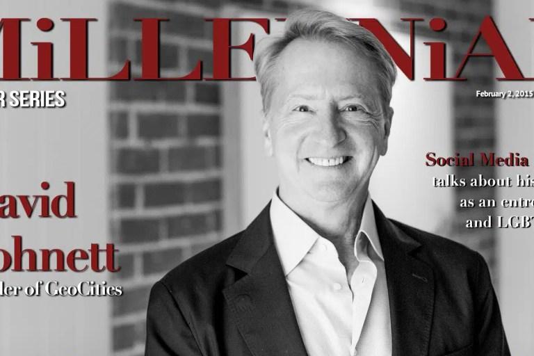 Millennial Magazine - David Bohnett Cover