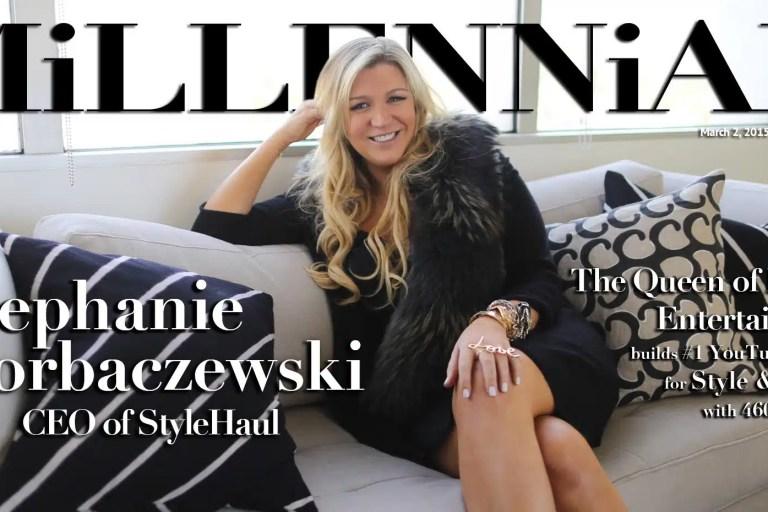 Millennial Magazine - Stephanie Horbaczewski StyleHaul Cover