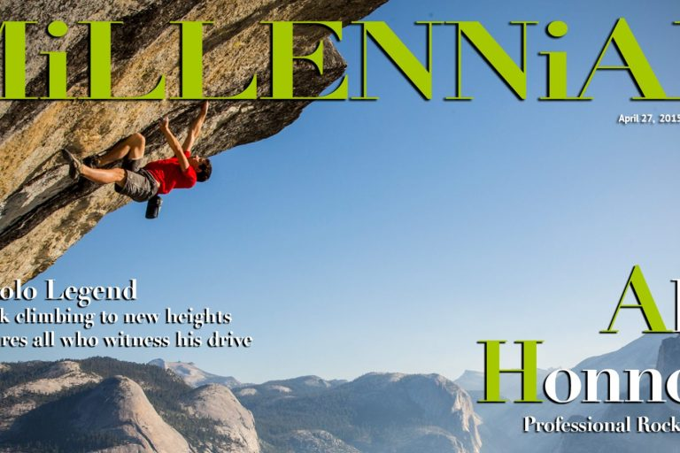 Millennial Magazine - Alex Honnold Cover