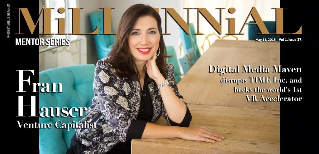 Millennial Magazine - Fran Hauser Cover