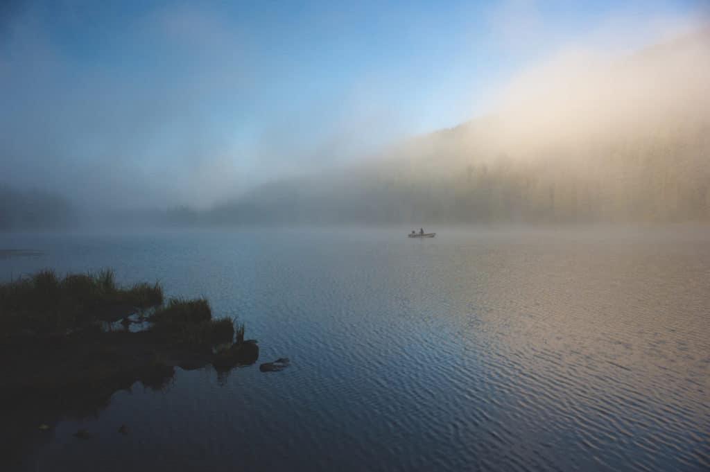 trillium lake, camping