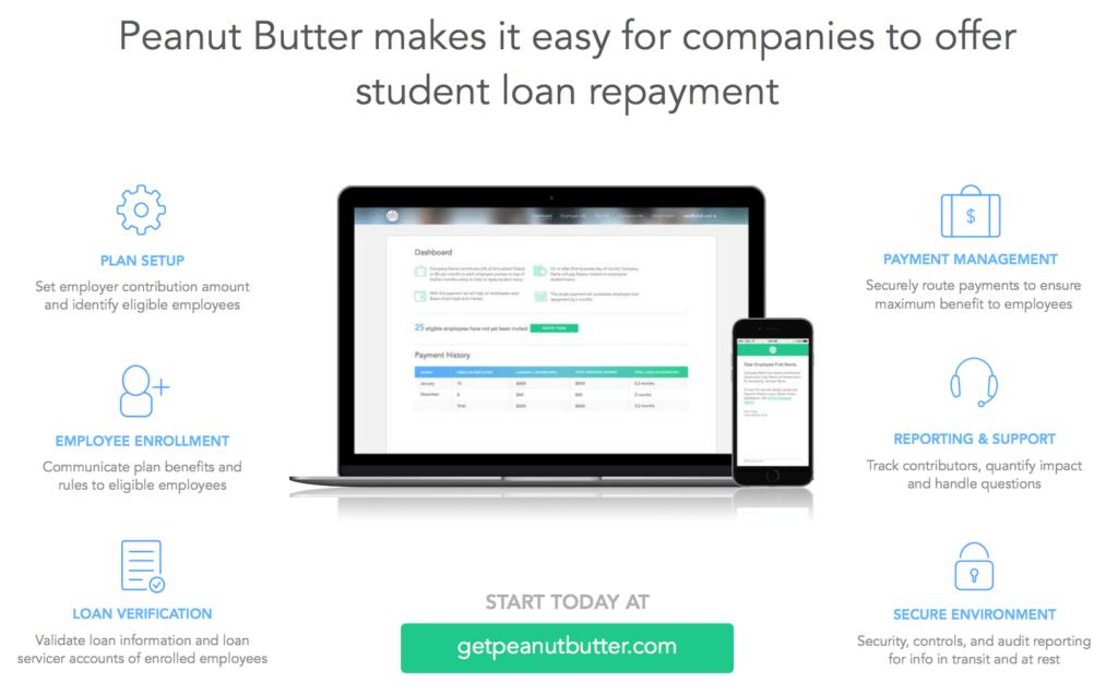 Peanut Butter Student Loan Repayment