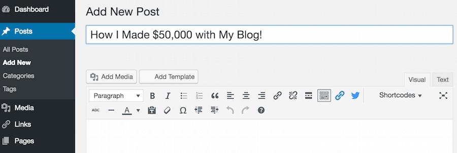 First WordPress Post