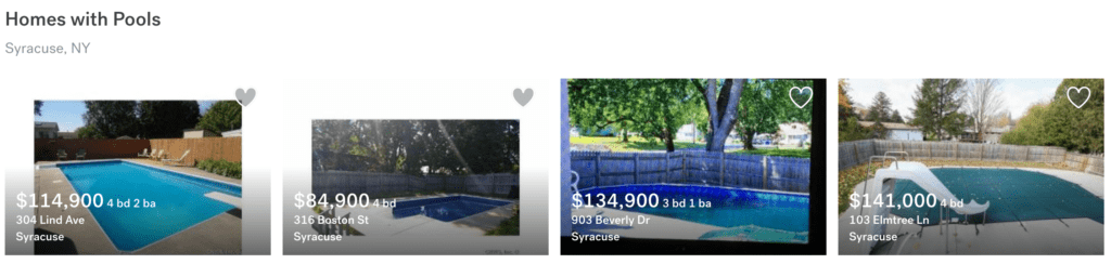 Syracuse Home with Pool