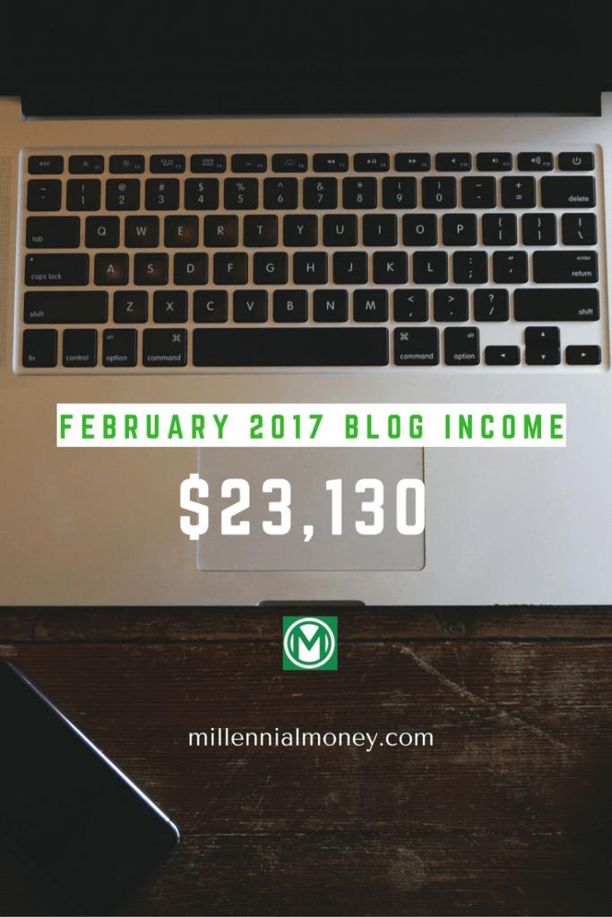 February 2017 Blog Income