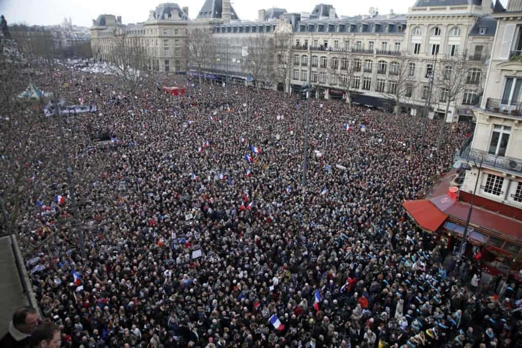 one million people