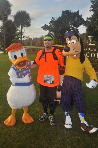 With Donald and the Goofmeister