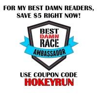 Best Damn Race Discount Code for Hokeyblog readers!