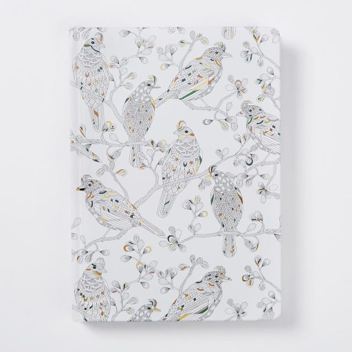Hardback narrow ruled journal with artwork from Wild Savannah