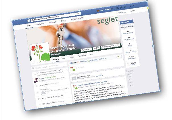 millimega sköter om Seglets facebook-sida.