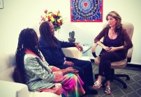 Wendy Silvers with Michael Bernard Beckwith & Rickie Byars Beckwith