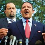 Marc Morial, president and CEO of the National Urban League and Ben Jealous, president of the NAACP met with President Obama last week. (Zoom Photo)
