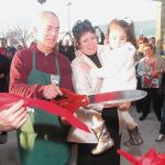 Pete-Tsiritidis-joined-by-members-of-family-cutting-ribbon-at-Petes-Fruit-Market-larger-store-Grand-Opening
