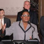 Congresswoman Gwen Moore held a press conference