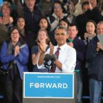 President Barack Obama made a campaign stop in Milwaukee