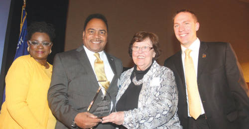 Spencer-Coggs-Lifetime-of-Service-Award-Gwen-Moore-Marlene-Ott-Chris-Larsen-Democratic-party