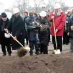 Ground Breaking Ceremony (Photo By Robert Bell)
