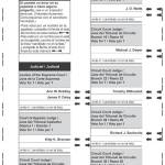 Notice of Spring Election, Sample Ballots and Referendum