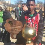 Dominican High School Point Guard Selected to Play in the 2015 Wisconsin Basketball Coaches Association All-Star Squad