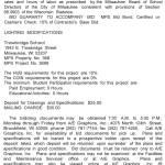 MPS Requesting BIDs for Lighting Modifications at Trowbridge School
