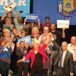 Sen. Elizabeth Warren Calls Out Trump at Early Voting Rally