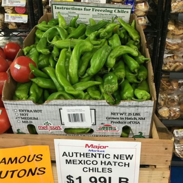 Melissa's fresh Hatch chiles