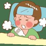 インフルエンザって解熱剤は必要?効果や解熱後の登校はいつから?