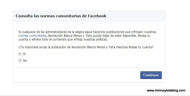 facebook censura foto