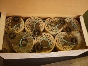 Foto del interior de la caja