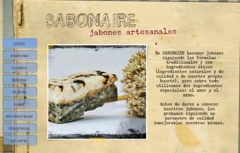 La web de Sabonaire