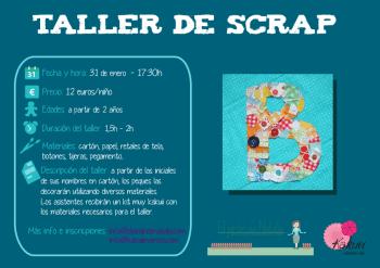 Cartel info taller scrap