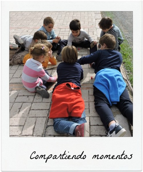 Compartiendo momentos con los suyos